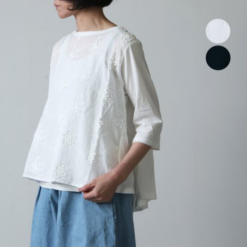 kelen (ケレン) Embroidery Lace Tops Sue