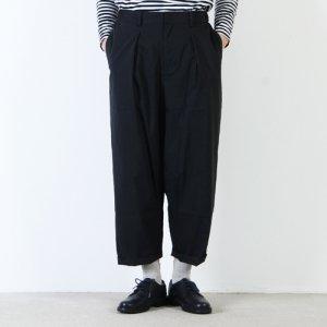 MidiUmi (ミディウミ) タックワイドパンツ