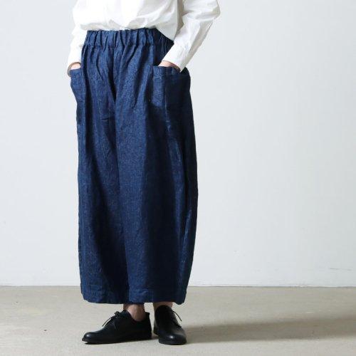 [THANK SOLD] Lin francais d'antan (ランフランセダンタン) Salvador(サルヴァドール)wool  サルヴァドールウールパンツ