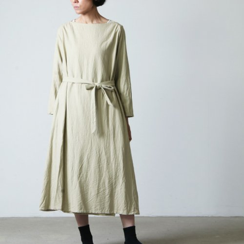 YAECA (ヤエカ) WRITE WRAP DRESS / ライトラップドレス