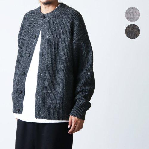 【30% OFF】 crepuscule (クレプスキュール) Moss Stitch Parka / モススティッチニットパーカー