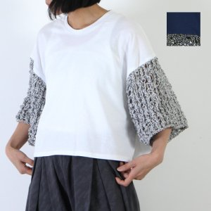 【30% OFF】 sneeuw (スニュウ) ニットスリーブプルオーバー