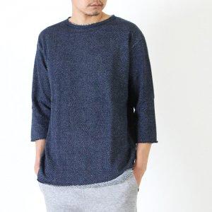 Jackman (ジャックマン) 4/5 Sleeved Sweat Shirt / 4/5スリーブスウェットシャツ