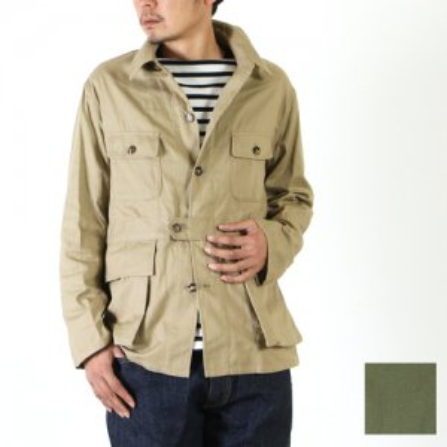 KAPTAIN SUNSHINE (キャプテンサンシャイン) Safari Jacket / サファリジャケット