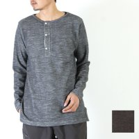 yohaku (ヨハク) henry neck l/s tee / ヘンリーネックロングスリーブTシャツ