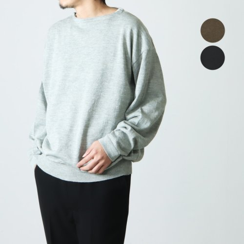 crepuscule (クレプスキュール) Pocket Knit S/S / ポケットニットショートスリーブカットソー