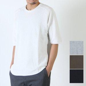 CURLY (カーリー) CLOUDY QS TEE / クラウディークォータースリーブTシャツ