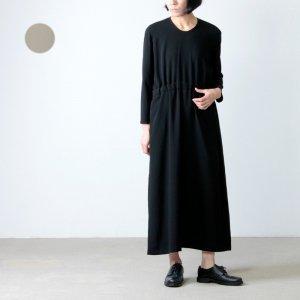 NO CONTROL AIR (ノーコントロールエアー) キュプラポリエステル 強撚ダブルクロス ドレス