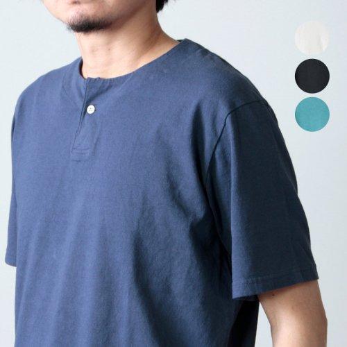 Jackman (ジャックマン) Henlyneck T-shirt / ヘンリーネックTシャツ