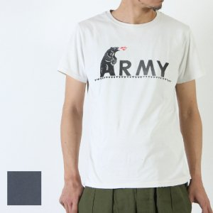 【30% OFF】 REMI RELIEF (レミレリーフ) スペシャル加工Tee 『ARMY』