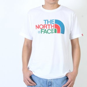 THE NORTH FACE (ザノースフェイス) S/S Colorful Logo Tee / MEN