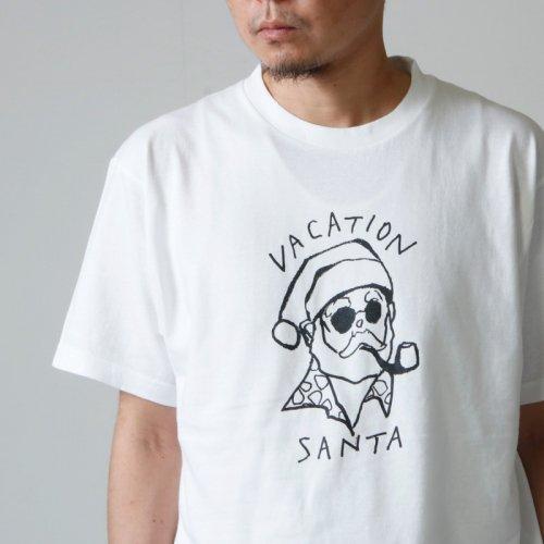 weac. (ウィーク) VACATION SANTA T SHIRTS / バケーションサンタ Tシャツ