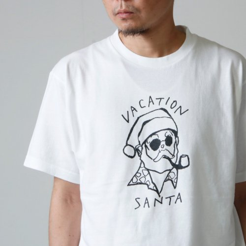 weac. (ウィーク) VACATION SANTA T SHIRTS / バケーションサンタTシャツ