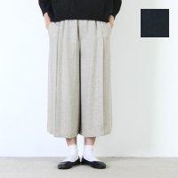【30% OFF】 yangany (ヤンガニー) タックワイドパンツ