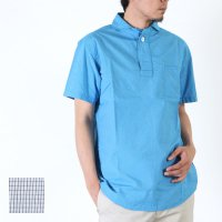 LOLO (ロロ) 定番プルオーバー半袖ミニグラフチェックシャツ