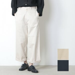 YAECA (ヤエカ) CHINO CLOTH PANTS WIDE
