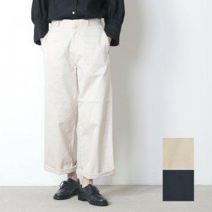 YAECA (ヤエカ) CHINO CLOTH PANTS WIDE / チノクロスパンツワイド