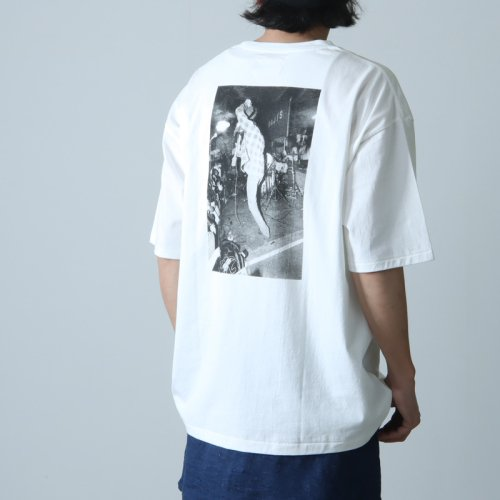 CAL O LINE (キャルオーライン) AMERICA PRINT TEE / 『アメリカ』プリントTシャツ