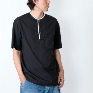 nisica (ニシカ) ohh!nisica ヘンリーネックシャツ
