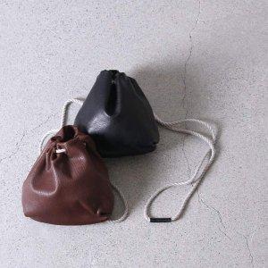 STYLE CRAFT (スタイルクラフト) ゴート巾着型バッグ / #Indigo