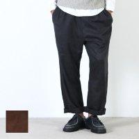 MASTER & Co. (マスターアンドコー) WASHABLE SUEDE LONG PANTS sizeS , M / ウォッシャブルスエードロングパンツ