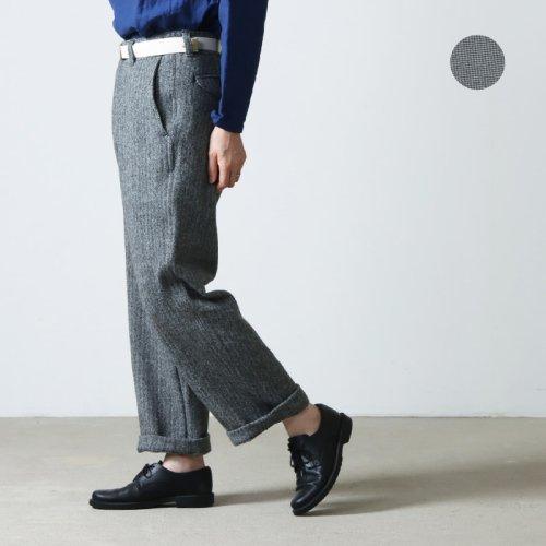 MASTER & Co. (マスターアンドコー) WASHABLE SUEDE LONG PANTS sizeXS / ウォッシャブルスエードロングパンツ