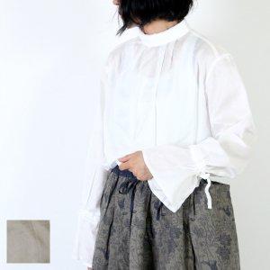 MidiUmi (ミディウミ) ハイネック トランペットスリーブプルオーバー
