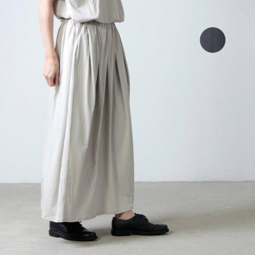 MidiUmi (ミディウミ) タックギャザースカート