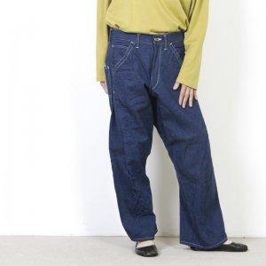 CAL O LINE (キャルオーライン) BARREL PAINTER PANTS for Woman / バレルぺインターパンツ レディースサイズ