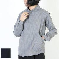 LOLO (ロロ) 定番プルオーバーストライプウールシャツ size:S