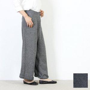 mao made (マオメイド) JAZZ NEP 裏毛ラップパンツ / ジャズネップウラケラップパンツ