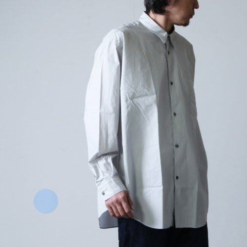 FUJITO (フジト) B/S Shirt Solid / ビッグシルエットシャツ ソリッド