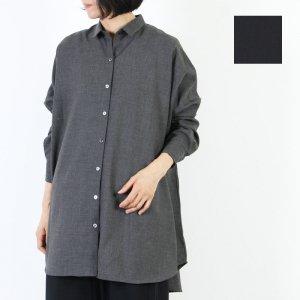mizuiro ind (ミズイロインド) ワイドシャツチュニック