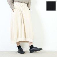 FACTORY (ファクトリー) アスペロコットン ウエストリブ バルーンスカート