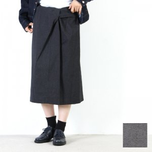 mizuiro ind (ミズイロインド) ラップスカート