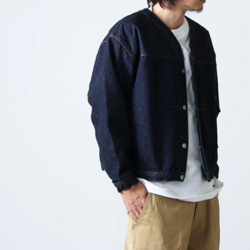 KAPTAIN SUNSHINE (キャプテンサンシャイン) Double Faced Sewing Hooded Parka Made By LOOPWHEELER / フーデッドパーカー
