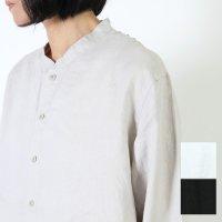 [THANK SOLD] AUGUSTE PRESENTATION (オーギュストプレゼンテーション) リネンスタンドカラーシャツ