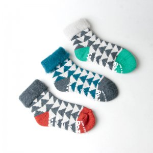 RoToTo (ロトト) DOUBLUE FACE SOCKS - SILK & COTTON