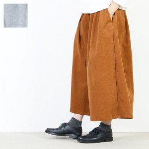 [THANK SOLD] style + confort (スティールエコンフォール) 26W ストレッチコーデュロイハカマパンツ