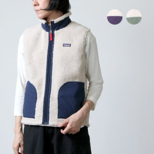 PATAGONIA (パタゴニア) K's Retro-X Vest / キッズ レトロX ベスト #for WOMEN