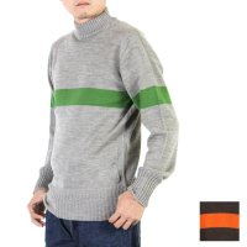 KAPTAIN SUNSHINE (キャプテンサンシャイン) Seamless Naval Sweater / シームレスナバルセーター