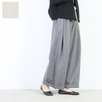 SI-HIRAI (スーヒライ) TOPフラノウールワイドパンツ