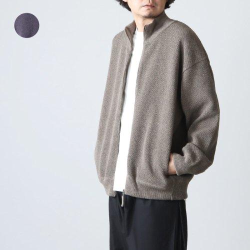 [THANK SOLD] crepuscule (クレプスキュール) moss stitch cardigan / モススティッチカーディガン
