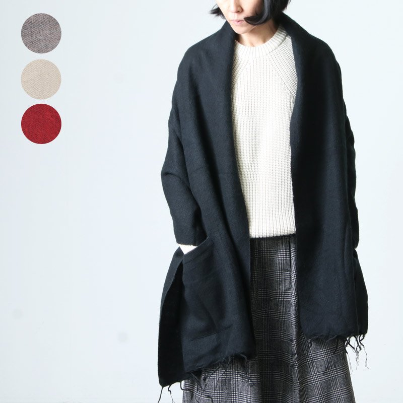 KHATA (カタ) Plain Pocket / 大判ストール プレーンポケット