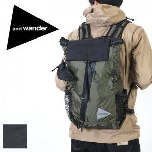 and wander (アンドワンダー) 30L backpack / 30L バックパック