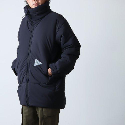 and wander (アンドワンダー) diamond stitch down vest For Man / ダイヤモンドステッチダウンベスト メンズサイズ