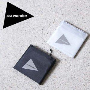 and wander (アンドワンダー) hybrid cuben fiber wallet / ハイブリッド キューベンファイバー ウォレット
