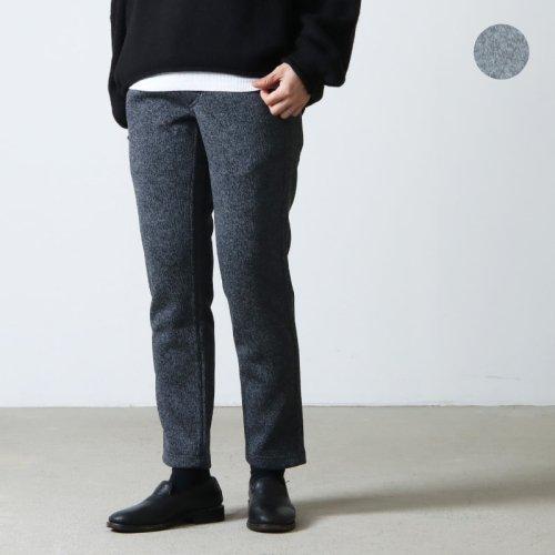 GRAMICCI (グラミチ) SWEAT NARROW RIB PANTS / スウェットナローリブパンツ