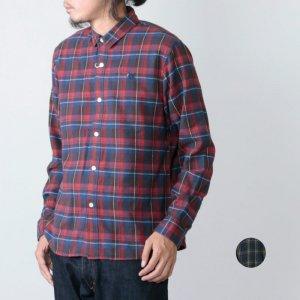weac. (ウィーク) パグちゃんシャツ チェック