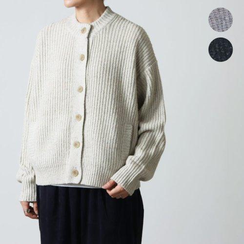 crepuscule (クレプスキュール) Wool Moss Stitch L/S Ladies / レディース ウール モススティッチ ロングスリーブニット